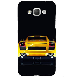 Ifasho Designer Back Case Cover For Samsung Galaxy Grand Max G720 (Poster Art Compare Car)