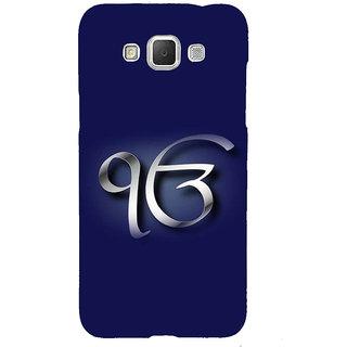 Ifasho Designer Back Case Cover For Samsung Galaxy Grand Max G720 (Om Kara In Punjabi Ek Omkara Punjab)