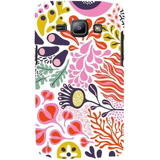 Ifasho Designer Back Case Cover For Samsung Galaxy J1 (2015) :: Samsung Galaxy J1 4G (2015) :: Samsung Galaxy J1 4G Duos :: Samsung Galaxy J1 J100F J100Fn J100H J100H/Dd J100H/Ds J100M J100Mu (Tribal Design Haerbin African Pali)