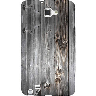 Ifasho Designer Back Case Cover For Samsung Galaxy Note N7000 :: Samsung Galaxy Note I9220 :: Samsung Galaxy Note 1 :: Samsung Galaxy Note Gt-N7000 (Bank Of America Nascar Wood Polish)