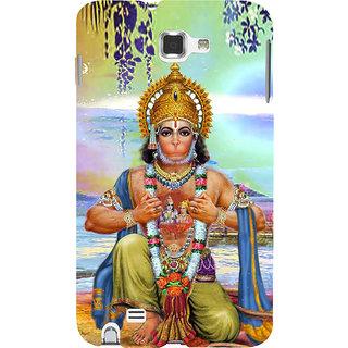 Ifasho Designer Back Case Cover For Samsung Galaxy Note N7000 :: Samsung Galaxy Note I9220 :: Samsung Galaxy Note 1 :: Samsung Galaxy Note Gt-N7000 (Hanuman Hanuman Rings For Boys Hanuman Photo Hanuman Necklace)