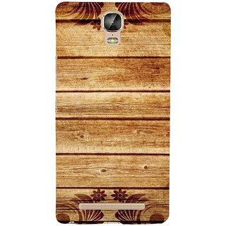 IFasho Designer Back Case Cover For Gionee Marathon M5 Plus (Facebook Login Page Www.Facebook.Com Wood)