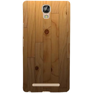 IFasho Designer Back Case Cover For Gionee Marathon M5 Plus (Itunes Youtube Videos Wood Golf Club)