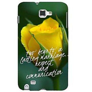 Ifasho Designer Back Case Cover For Samsung Galaxy Note N7000 :: Samsung Galaxy Note I9220 :: Samsung Galaxy Note 1 :: Samsung Galaxy Note Gt-N7000 (Rose Rosa Keys To Successful Marriage)