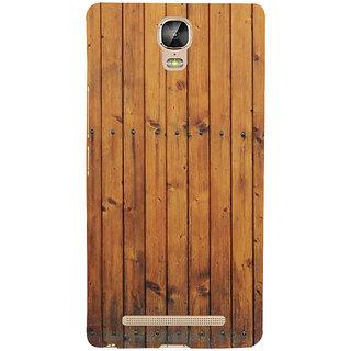 IFasho Designer Back Case Cover For Gionee Marathon M5 Plus (Sandra Model Ls Dreams Woodd 6 Inch Speakers)