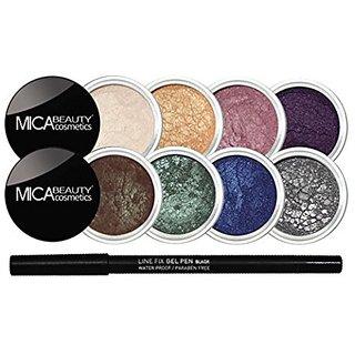 6cfc0166cd00 Mineral Eye Makeup Bundle 9 Items : Mica Beauty