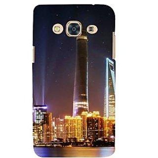 Ifasho Designer Back Case Cover For Samsung Galaxy J3 Pro :: Samsung Galaxy J3 (2017) (Cities Calcutta India Ahmednagar)