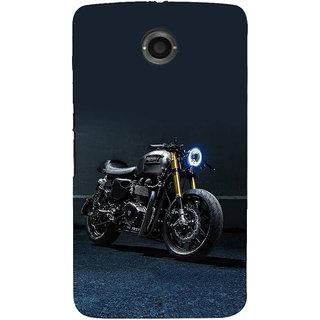 IFasho Designer Back Case Cover For Motorola Nexus 6 :: Motorola Nexus X :: Motorola Moto X Pro :: Google Nexus 6 (Work Art Fuel Car)