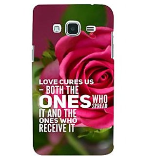 Ifasho Designer Back Case Cover For Samsung Galaxy J3 (6) 2016 :: Samsung Galaxy J3 2016 Duos :: Samsung Galaxy J3 2016 J320F J320A J320P J3109 J320M J320Y  (Rose Rosa Medicine Who Spread It)