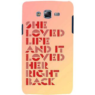 Ifasho Designer Back Case Cover For Samsung Galaxy J5 (2015) :: Samsung Galaxy J5 Duos (2015 Model)  :: Samsung Galaxy J5 J500F :: Samsung Galaxy J5 J500Fn J500G J500Y J500M  (Link  End Loved Right Back )