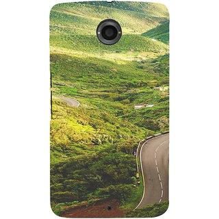 IFasho Designer Back Case Cover For Motorola Nexus 6 :: Motorola Nexus X :: Motorola Moto X Pro :: Google Nexus 6 (Road Scenary Rio De Janeiro Brazil Agra)