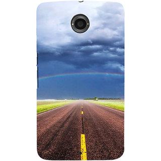 IFasho Designer Back Case Cover For Motorola Nexus 6 :: Motorola Nexus X :: Motorola Moto X Pro :: Google Nexus 6 (Road Scenary Lahore Pakistan Siliguri)