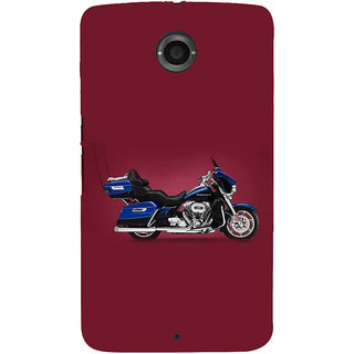 IFasho Designer Back Case Cover For Motorola Nexus 6 :: Motorola Nexus X :: Motorola Moto X Pro :: Google Nexus 6 (Tf Art Exhaust Car)
