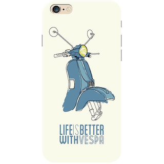 HACHI Life Is Better Mobile Cover for   6 Plus