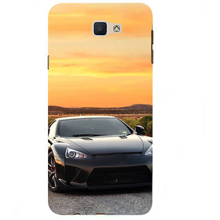 Ifasho Designer Back Case Cover For Samsung Galaxy J7 Prime (2016) (Art Institute Care Car)