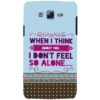 Ifasho Designer Back Case Cover For Samsung Galaxy J5 (2015) :: Samsung Galaxy J5 Duos (2015 Model)  :: Samsung Galaxy J5 J500F :: Samsung Galaxy J5 J500Fn J500G J500Y J500M  (When I Think About You)