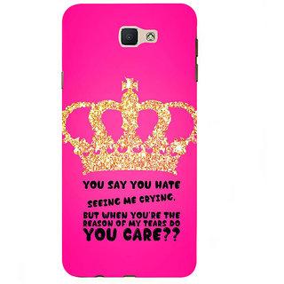 Ifasho Designer Back Case Cover For Samsung Galaxy J7 Prime (2016) (Divorce  Texas Education)