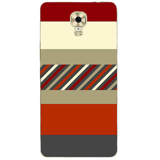 IFasho Designer Back Case Cover For Gionee M6 Plus (Youtube Tattoo Designs Linen Shirts For Men)