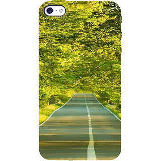 IFasho Designer Back Case Cover For   4S (Road Scenary Tianjin China Ludhiana)