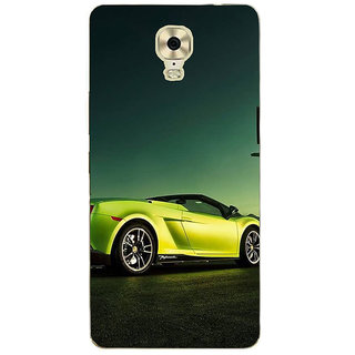 IFasho Designer Back Case Cover For Gionee M6 Plus (Art Center Body Parts Car)