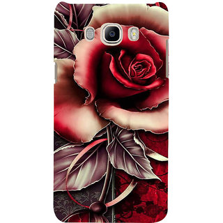 Ifasho Designer Back Case Cover For Samsung Galaxy J5 (6) 2016 :: Samsung Galaxy J5 2016 J510F :: Samsung Galaxy J5 2016 J510Fn J510G J510Y J510M :: Samsung Galaxy J5 Duos 2016 (Contain  Rosehip Oil For Face 3 Roses Tea Calendula )