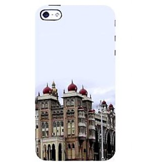 IFasho Designer Back Case Cover For Apple IPhone 4 (Monument Kinshasa Congo (Zaire) Anantapur)