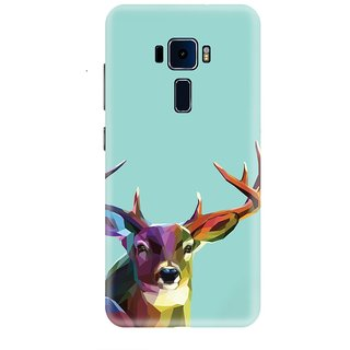 Asus ZenFone 3 Laser Printed Back Cover By CareFone