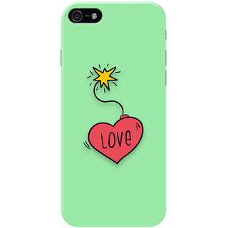 HACHI Cool Case Mobile Cover for   5S