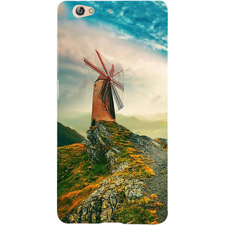 IFasho Designer Back Case Cover For Gionee S6 (Hilly Hill Station Ladhak Hills )