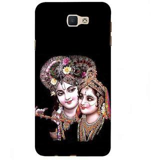 Ifasho Designer Back Case Cover For Samsung Galaxy J7 Prime (2016) (Radha Krishna  Vrindavan Beijing China Vishnu T Shirt)