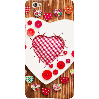 IFasho Designer Back Case Cover For Gionee S6 (Love Love Chains For Couples Love In The Times Of Jihaad Love More Kurtas)