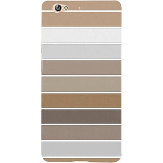 IFasho Designer Back Case Cover For Gionee S6 (Puzzle Different Color Lines Cloth Design)