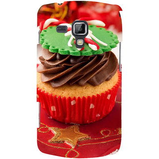 Ifasho Designer Back Case Cover For Samsung Galaxy S Duos 2 S7582 :: Samsung Galaxy Trend Plus S7580 (Cake Beijing China Raiganj)