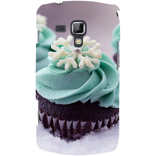 Ifasho Designer Back Case Cover For Samsung Galaxy S Duos 2 S7582 :: Samsung Galaxy Trend Plus S7580 (Cake London Uk Adityapur)