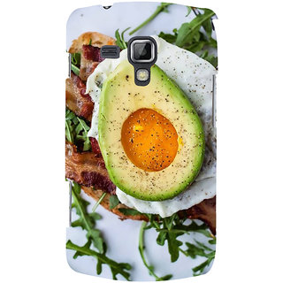 Ifasho Designer Back Case Cover For Samsung Galaxy S Duos 2 S7582 :: Samsung Galaxy Trend Plus S7580 (Cake Tehran Iran Machilipatnam)