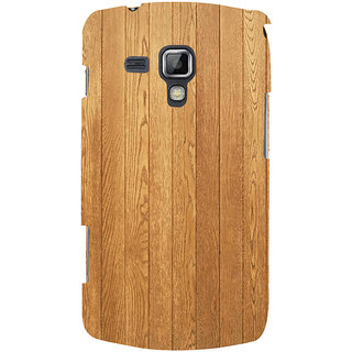 Ifasho Designer Back Case Cover For Samsung Galaxy S Duos 2 S7582 :: Samsung Galaxy Trend Plus S7580 (Amazon Books Dictionary Wooden)