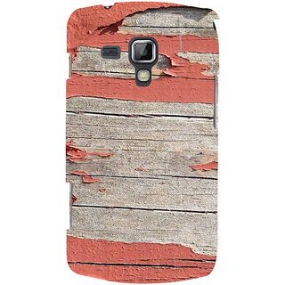 Ifasho Designer Back Case Cover For Samsung Galaxy S Duos 2 S7582 :: Samsung Galaxy Trend Plus S7580 (Nfl Kim Kardashian Wooden Stumps)