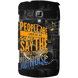 Ifasho Designer Back Case Cover For Samsung Galaxy S Duos 2 S7582 :: Samsung Galaxy Trend Plus S7580 (Consanguine  Messing Around)