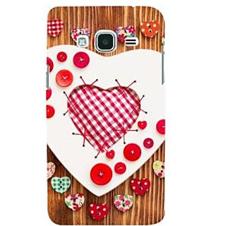 Ifasho Designer Back Case Cover For Samsung Galaxy J2 (6) 2016  J210F :: Samsung Galaxy J2 Pro (2016) (Love Love Chains For Couples Love In The Times Of Jihaad Love More Kurtas)