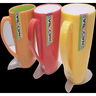 NAYASA MILK/ COFFEE/ TEA MUGS (SET OF 6 ) COLOUR RED, ORANGE, YELLOW