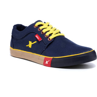 a22ca133f02c Buy Sparx Men s Navy Lace-up Sneakers Online   ₹999 from ShopClues