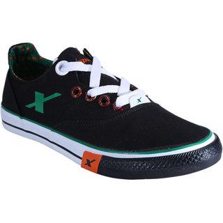 SC0192G SPARX Men Canvas Shoes (SM-192 Black)