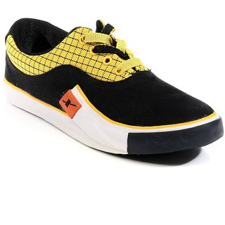 SC0198G SPARX Men Canvas Shoes (SM-198 Black)