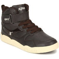Sparx Men's Brown Lace-up Smart Casuals