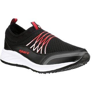 Sparx Men's Black Running Shoes
