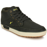 Sparx Men's Olive Lace-up Smart Casuals