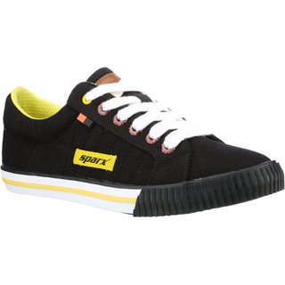 c1628d483 Buy SC0273G SPARX Men Canvas Shoes (SM-273 Black) Online   ₹1299 from  ShopClues