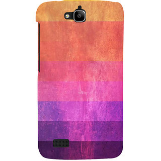 Ifasho Designer Back Case Cover For Huawei Honor Holly (Many Colour Voilet Black Brown Pink Purple)