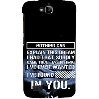 Ifasho Designer Back Case Cover For Huawei Honor Holly (Intimately Related  Entertainment News)