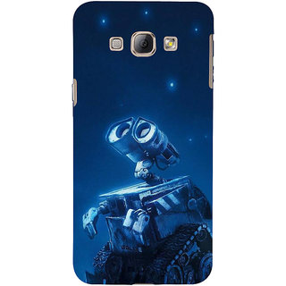 Ifasho Designer Back Case Cover For Samsung Galaxy A8 (2015) :: Samsung Galaxy A8 Duos (2015) :: Samsung Galaxy A8 A800F A800Y (Cartoon Machine Lampoonstar Farce Ridicule)